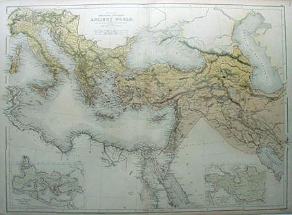 Ancient World from the Alps to South Egypt and Carthage to ...