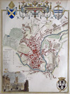 Antique Town Plan of Bath