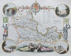 moule map for sale of Berkshire