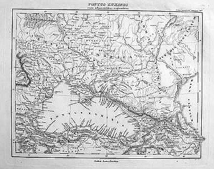 Antique map of The Black Sea
