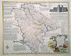 Emanuel Bowen old map of Devonshire
