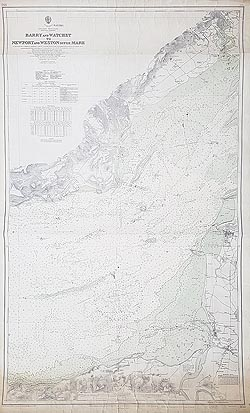 South Wales and North Somerset nautical chart for sale
