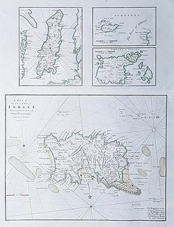 Cary map of the Channel Islands