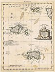 18th century Channel Islands map by Thomas Kitchin