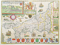 John Speed original map of The Isle of Man for sale