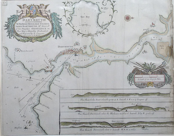 Dartmouth Chart for sale