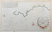 18th Century Naval chart of Devon and Cornwall
