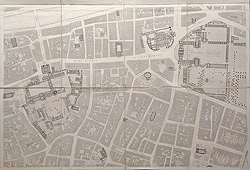 Dublin 19th century plan for sale