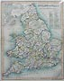 England and Wales Victorian Map