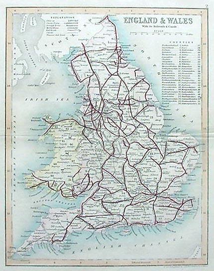 1850 in Wales