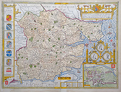 Essex Map by Speed for sale