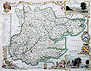 Antique Map of the county of Essex
