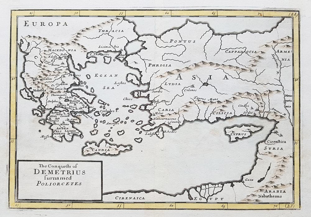 The Conquests of Demetrius Poliocetes