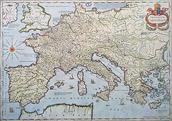 Europe 17th century map for sale - Jansson
