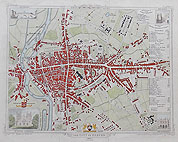 ExeterCity Antique plan for sale by Brown