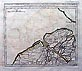 Extensive 10 piece antique map of Flanders