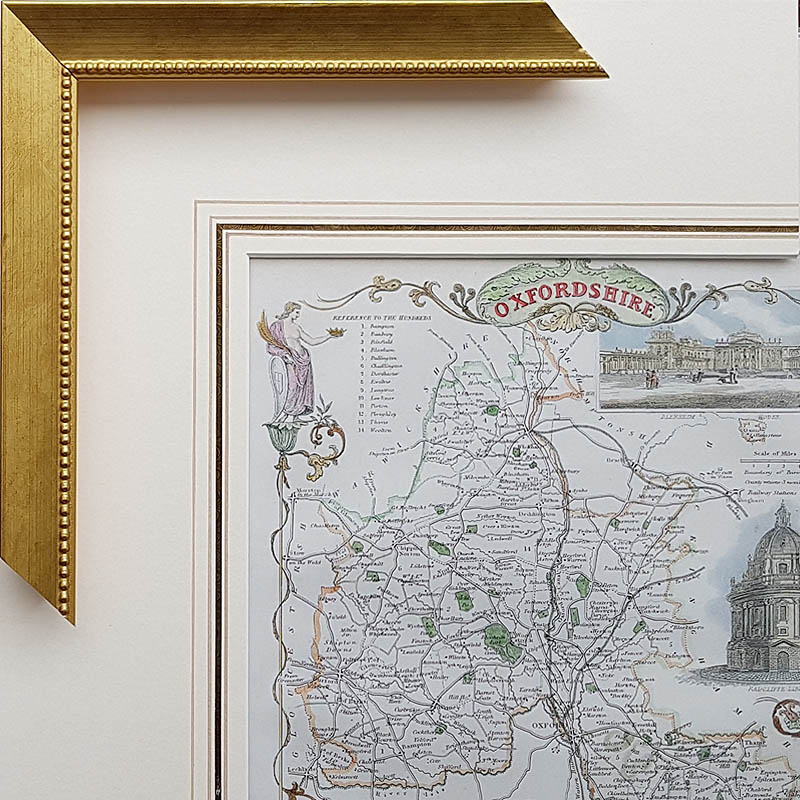 Framed Antique Maps - Professional Framing Service - Worldwide Delivery