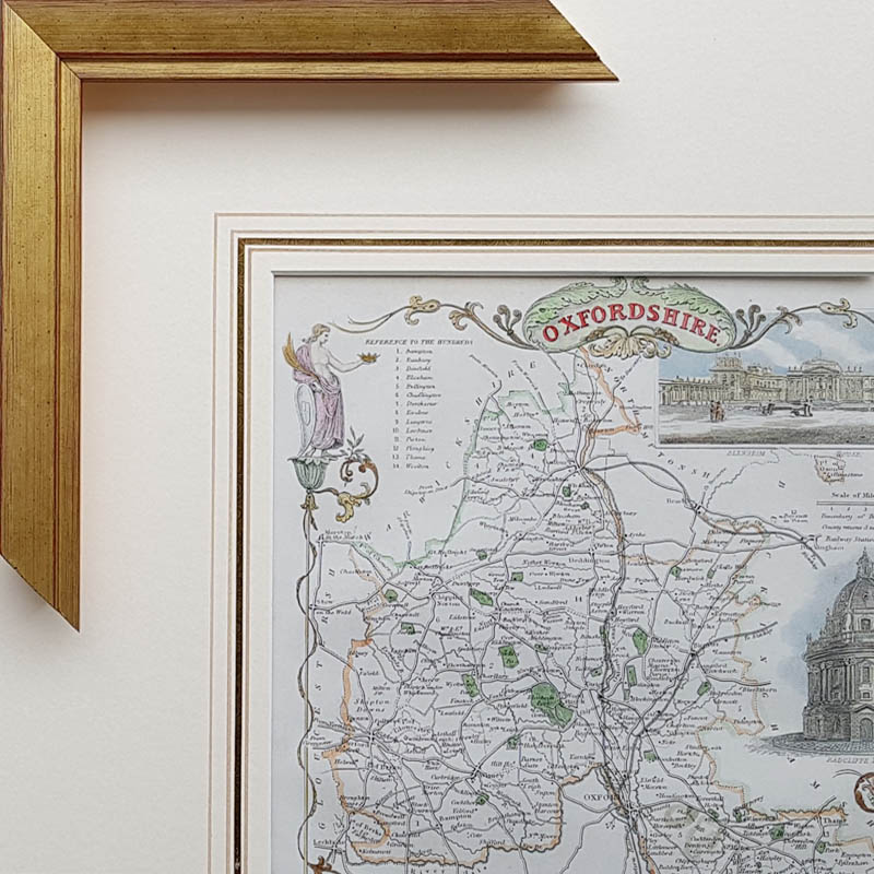 Framed antique maps professional framing service worldwide delivery suitable for moule and small sized maps moule price 6573 map framing 3 gumiabroncs Images