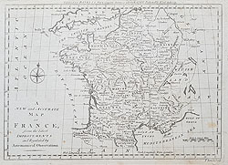 France map by Bowen