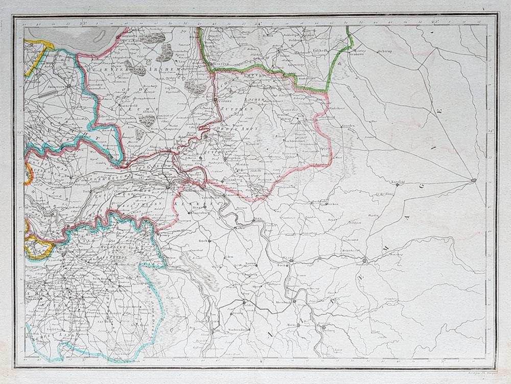 Map Of Gelderland With Cities And Towns Gelderland Netherlands Map