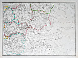 Gelderland Netherlands antique map for sale
