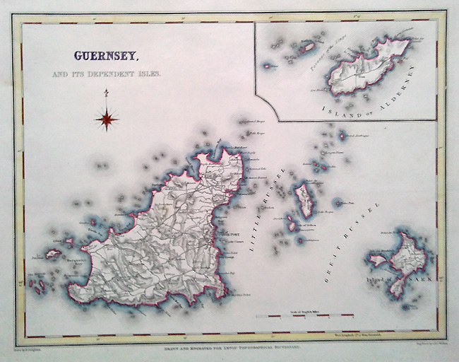 Jersey Map by Walker
