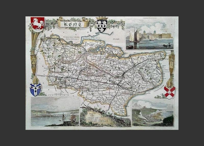 Antique Maps Online Extensive Stock Friendly Family Service - Antique maps for sale uk