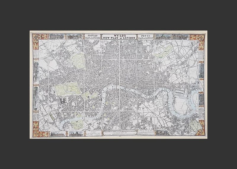 Antique London Maps