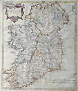 Ireland  map by Morden