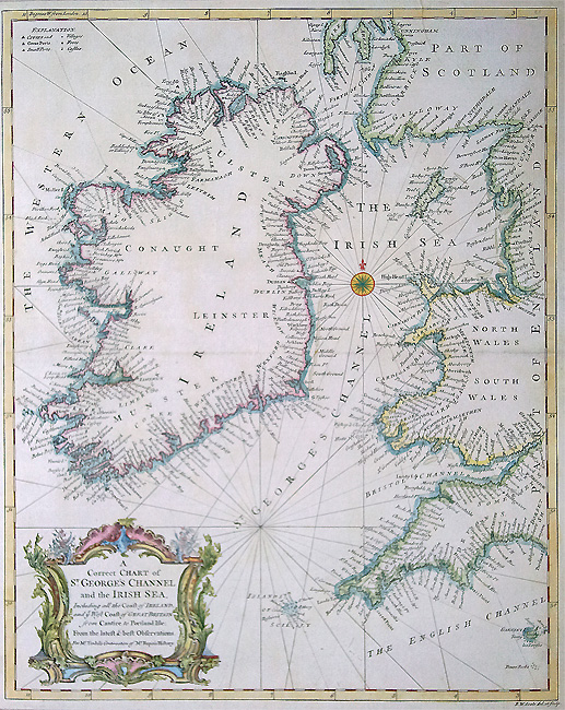 Irish Sea Chart