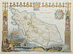 antique maps of the isle of Man for sale