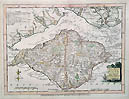 IOW Ellis map 18th century