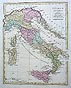 antique map italy