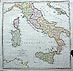 Italy map by Neele