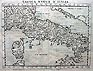 Antique map of Italy by Rucselli - Valgrici