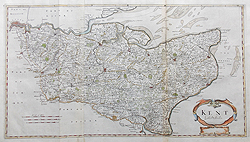 Morden map of Kent for sale