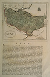 Antique map of Kent by Seller Gross