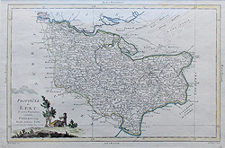 Kent map by Antonio Zatta for sale