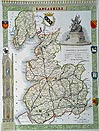 Lancashire antique map - Moule