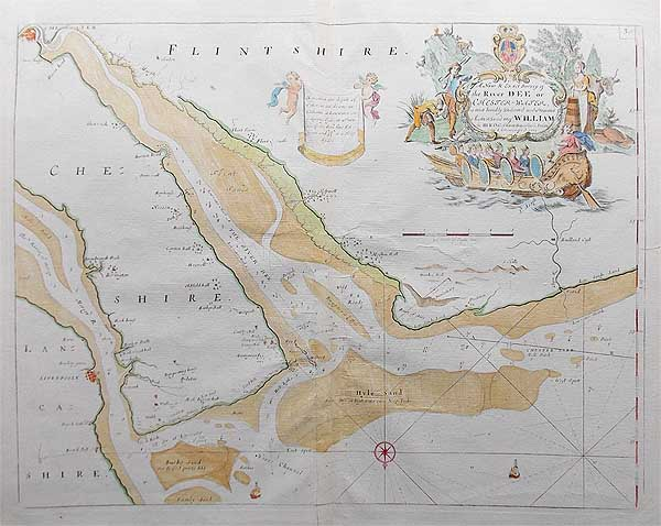 Liverpool Chart by Capt Greenville Collins