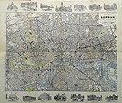 London Bacons Map dated 1900