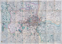 Antique map of London for Sale - Davies