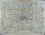 London Antique Street Map - Cement