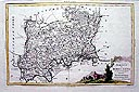 Antique Maps of London and Middlesex - London and Middlesex by Antonio Zatta 1779
