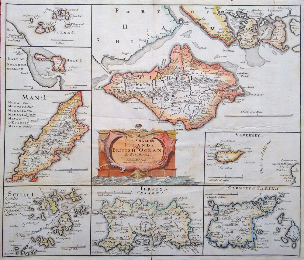 Antique Maps of the Channel Islands – Map Uk and Channel Islands