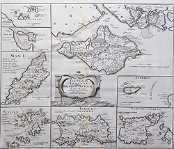 morden Islands of the British Ocean map for sale