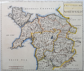 North Wales Robert Morden map for sale