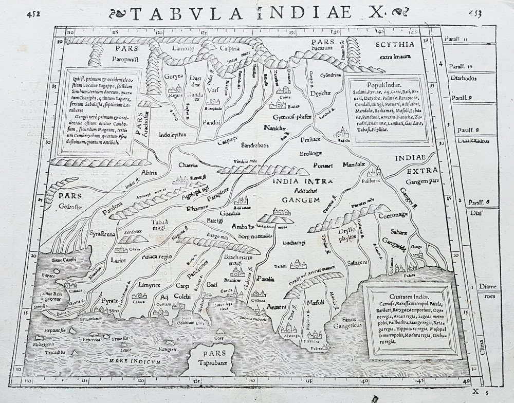 India map by Munster