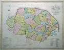 Norfolk antique map by Duncan