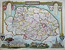 Norfolk antique maps